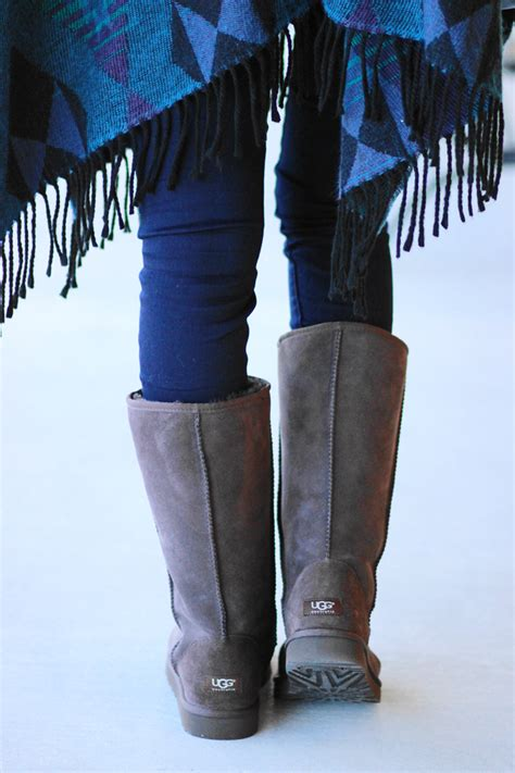 Boots Giveaway - belle de couture vintage poncho ugg boots giveaway closed