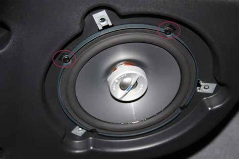 jeep jk speaker replacement soundbar speaker replacement non infinity jkowners