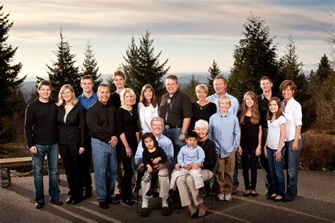 the large family a family photo shoot ideas on khakis family portraits and what to wear