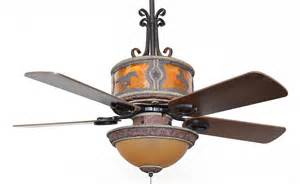 Western Ceiling Fans For Sale Cc Kvshr Lth Hs Lk420 Horses Western Leather Colored