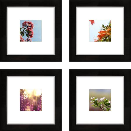 10 X 10 Mat With 8x8 Opening by Craig Frames 8x8 Black Picture Frame Smartphone