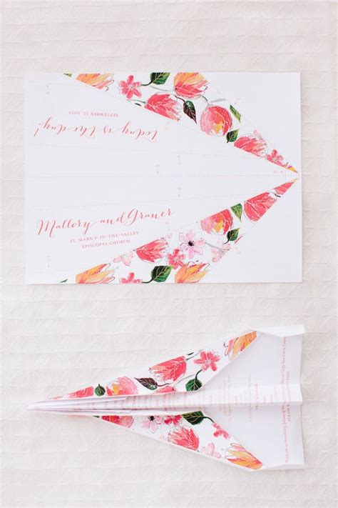 paper airplane place card template 25 best ideas about airplane wedding on