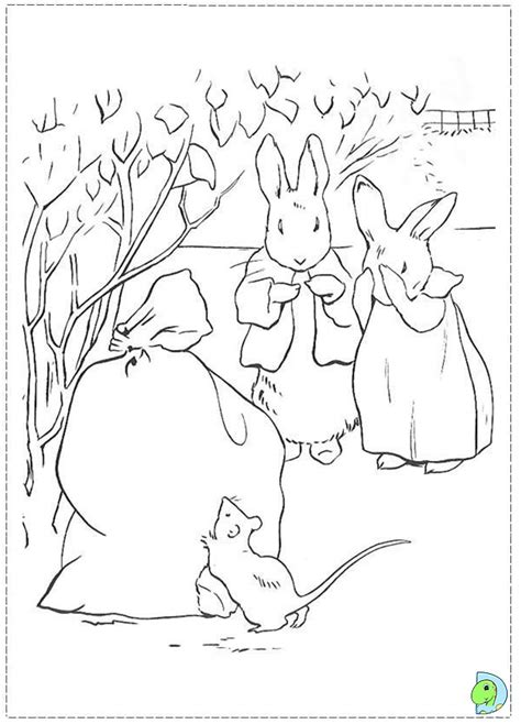 coloring pages from beatrix potter coloring pages