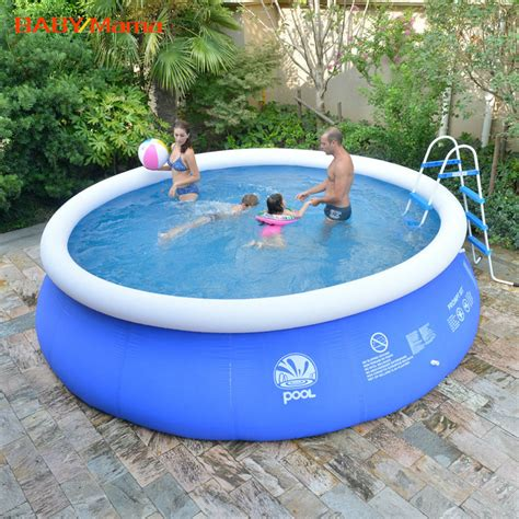 backyard blow up pools kingtoy inflatable swimming pool summer outdoor toy team play for 1 5 person adult and