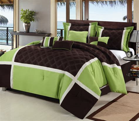 groupon comforter luxury bedding seven piece comforter set