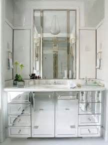 Mirrored Bathroom Storage Home Design Interior Bathroom Mirror Cabinets