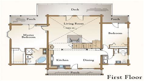 Log Home Floor Plans With Garage by Log Home Plans With Open Floor Plans Log Home Plans With