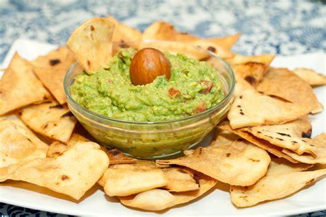 Tortillas, Tortilla Chips, and Guacamole - Served From Scratch Guacamole And Tortilla Chips Healthy