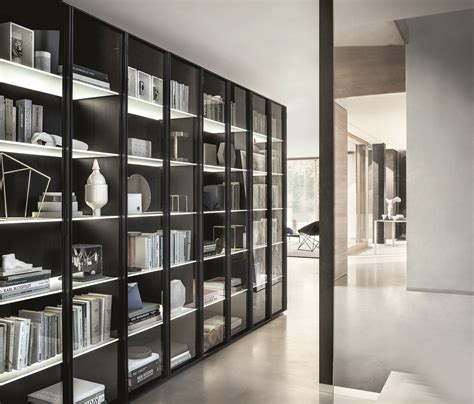 libreria lema sectional modular custom bookcase selecta by lema design