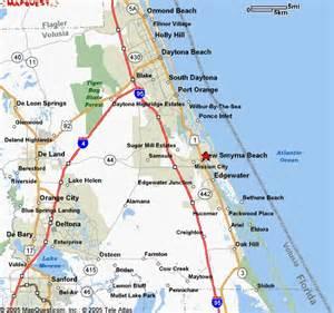 new smyrna florida map