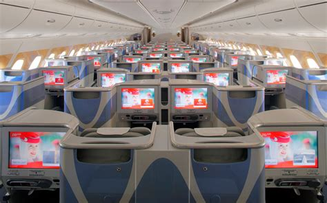 emirates business class cabin emirates adds a380 service to washington dulles beginning