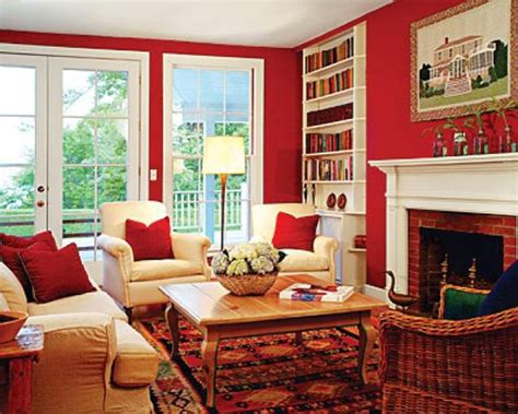 red wall living room red living room design ideas