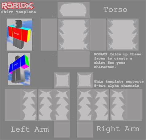 roblox template shirt roblox template images search