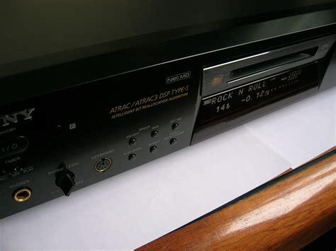 format audio minidisc sony mds je780 image 271790 audiofanzine