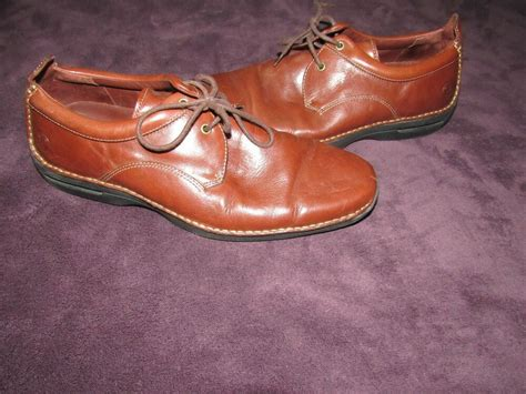 Dress Shoe Nike Sole by Mens Cole Haan Brown Dress Shoes Size 10 5 M Nike Air Sole 161 C04845 Ebay