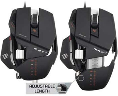 Mad Catz Rat 8 Gaming Mouse mad catz r a t 7 gaming mouse for pc and mac computers accessories