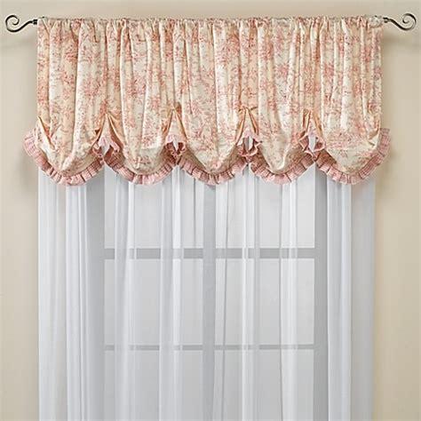 glenna jean curtains glenna jean isabella window valance bed bath beyond