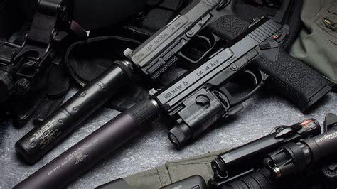 wallpaper 4k gun heckler koch pistol 4k ultra hd wallpaper and background