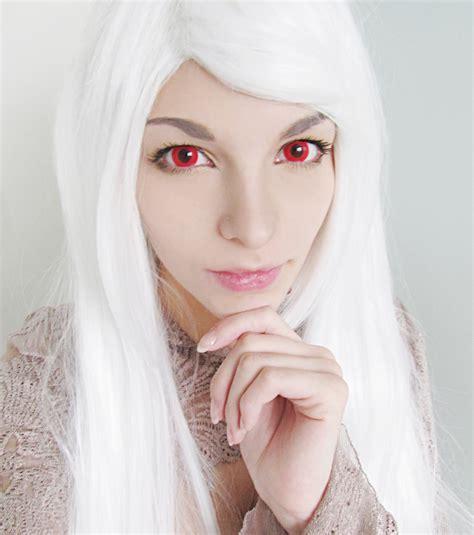 albino hair feel rare eye color the rarest eye colors in the world