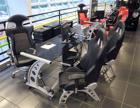 Car Office by Car Garage 7 Race Car Automotive Office Furniture
