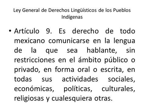 articulo de la constitucion que habla de los derechos los derechos ling 252 237 sticos de los pueblos y comunidades