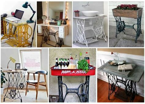 redesign furniture use the sewing machine as