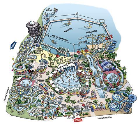 Wet N Wild Orlando Map by Wet N Wild Orlando