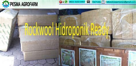 rockwool adalah media tanaman hidroponik