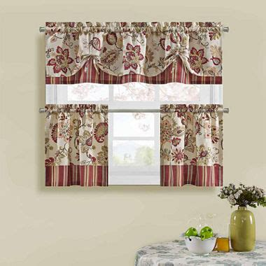 kitchen curtains at jcpenney jcpenney kitchen curtains various style and patterns of