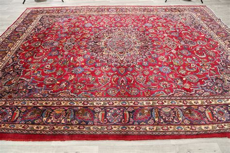 area rugs lowest price low price 10x13 mashad area rug wool carpet 12 11 quot x 9 7 quot ebay