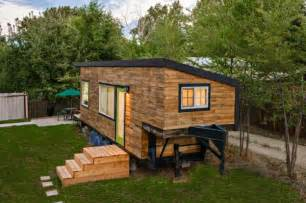 found tinyhouseswoon and images minimotives tiny house the boulder couple built foot wooden whose