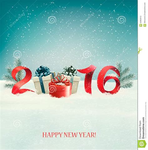 new year templates 2016 happy new year 2016 new year design template stock vector