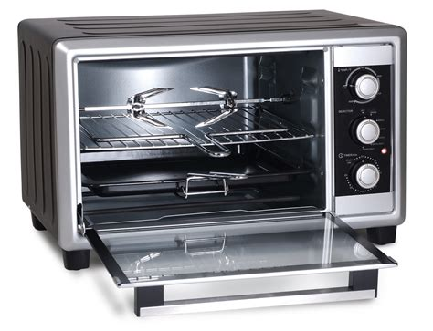 Elite Toaster Oven Broiler Rotisserie Elite Cuisine 6 Slice Extra Large Toaster Oven Broiler