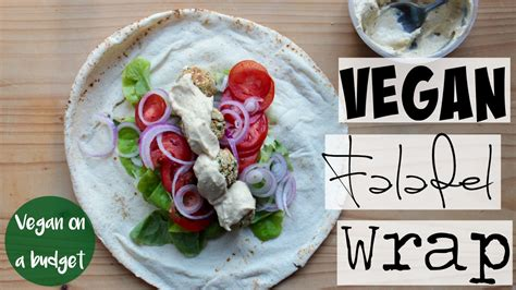 healthy fats on a budget 4 vegan on a budget falafel wrap cheap low