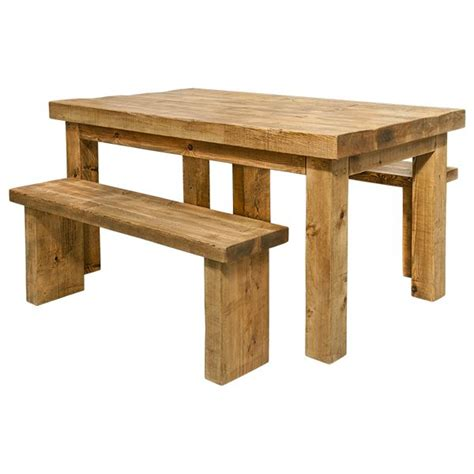 chunky wood bench dining table and benches rustic wood funky chunky
