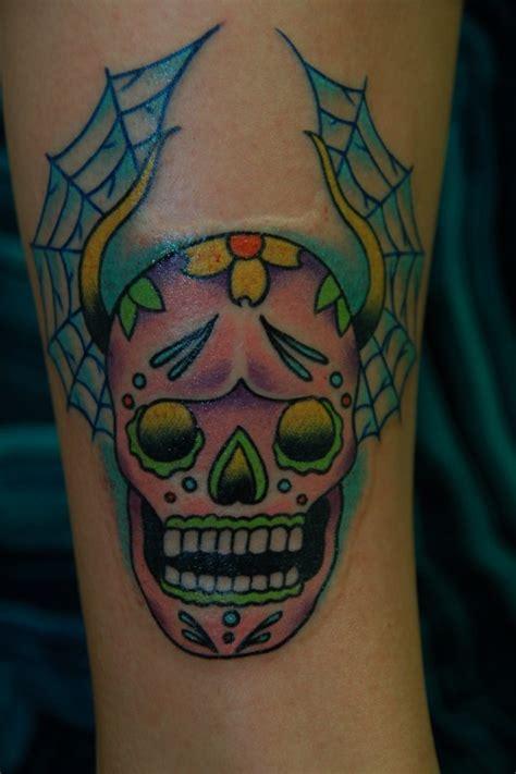 flower tattoo exles colorful skull tattoos 28 images best 25 pretty skull
