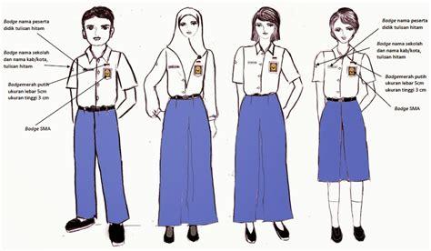 Ischool Baju Sekolah Sd 10 pakaian seragam sekolah nasional bagi peserta didik
