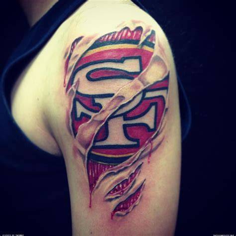 49ers tattoos sf 49ers artists org