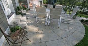 Cement Patio Designs Concrete Patio Photos Design Ideas And Patterns The Concrete Network