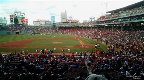 section 24 fenway park fenway park grandstand 24 rateyourseats com