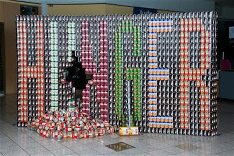 simple canstruction ideas 28 simple canstruction ideas error 14 best images