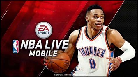 nba live apk free nba live mobile hd android apk