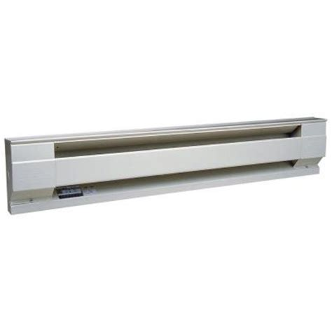 cadet 96 in 2500 watt 208 volt electric baseboard heater
