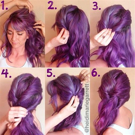 mhaircuta to give an earthy style 1000 ideas about curly purple hair on pinterest purple