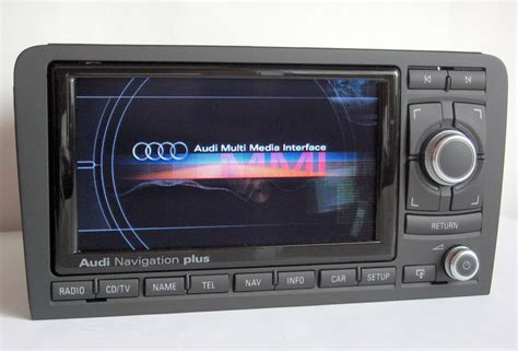 audi   p rns  chrome navigation  retrofit audio images