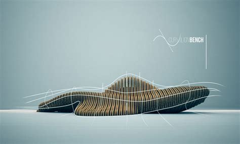 cl bench parametric design the curvilign bench by cl 233 ment loyer