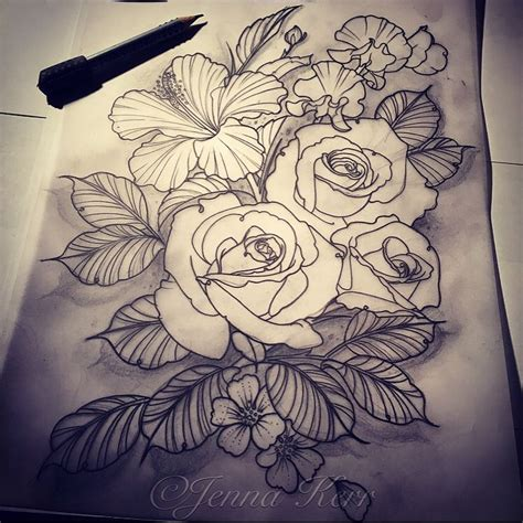 jenna tattoo designs 40 best drawings by kerr images on