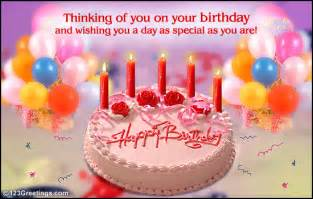 thinking of you on your b day free happy birthday ecards 123 greetings
