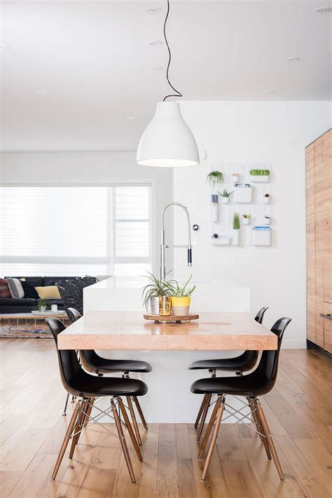 Kitchen Island With Dining Table Attached project b95 infill epitomizes elegantly cultural diversity of calgary