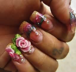 3d rose nail art set youtube